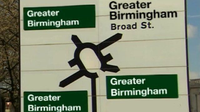 Greater Birmingham sign