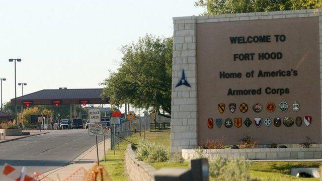 Fort Hood military base