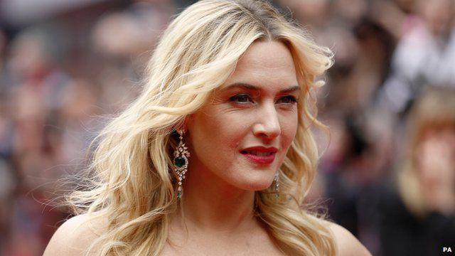 Kate Winslet at the Divergent premiere in London