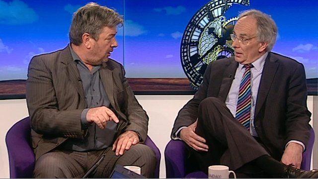 David Aaronovitch and Peter Bone