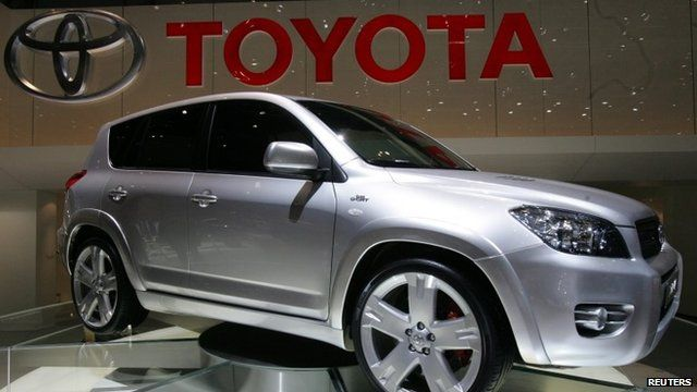 Toyota RAV4 one of the cars recalled
