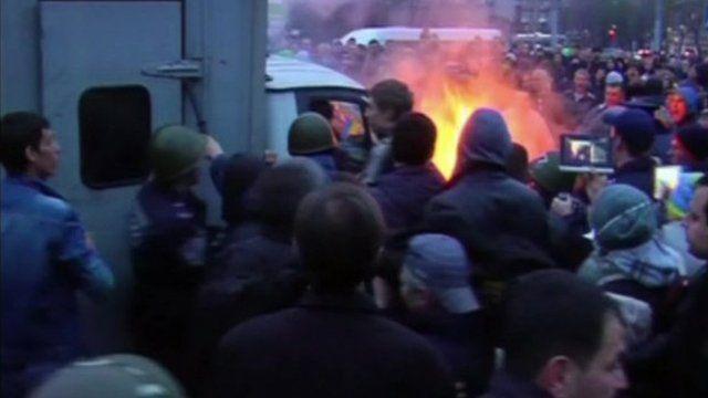 Ukraine clashes