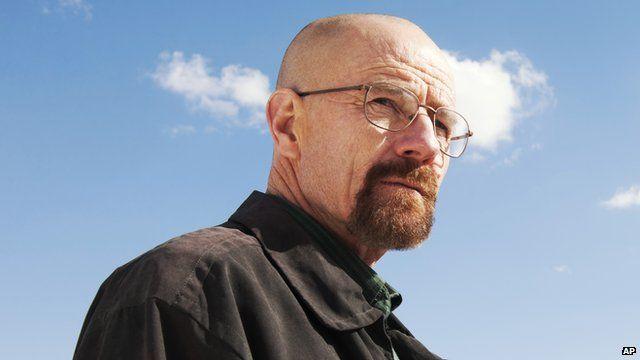 Bryan Cranston plays Walter White in Breaking Bad