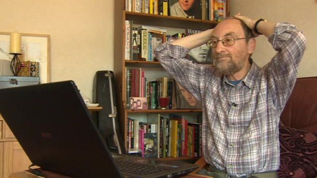 "Raphael Callaghan described his broadband connection as ""a joke"""