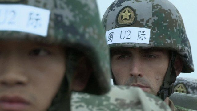 British soldier with Chinese army