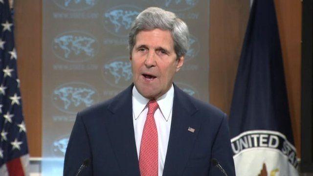 John Kerry 24 April 2014