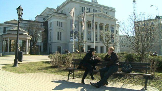 People in Riga