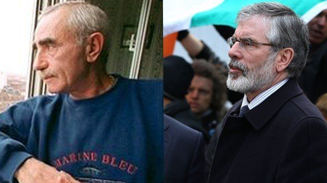 Brendan Hughes and Gerry Adams