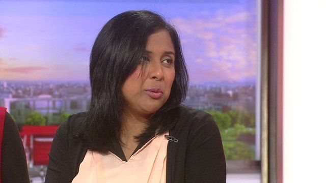 Sonya Wilson - who is in remission from bowel cancer