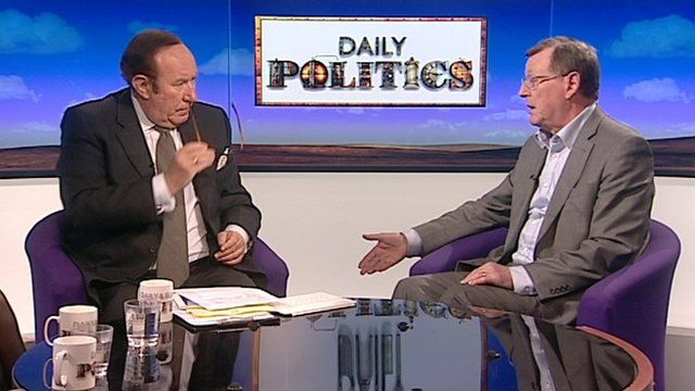 Andrew Neil and Lord Trimble