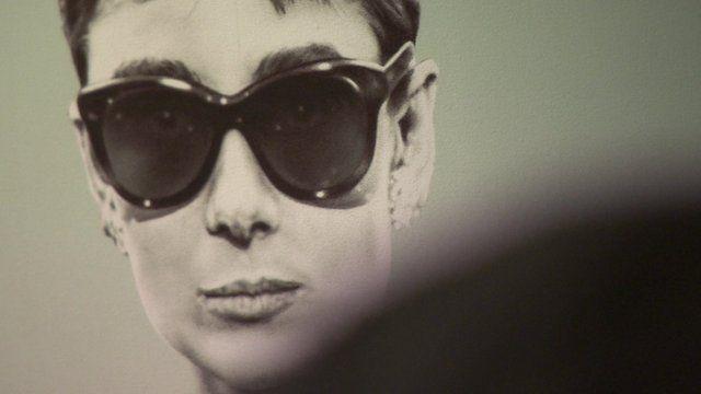Ballpoint pen image of Audrey Hepburn