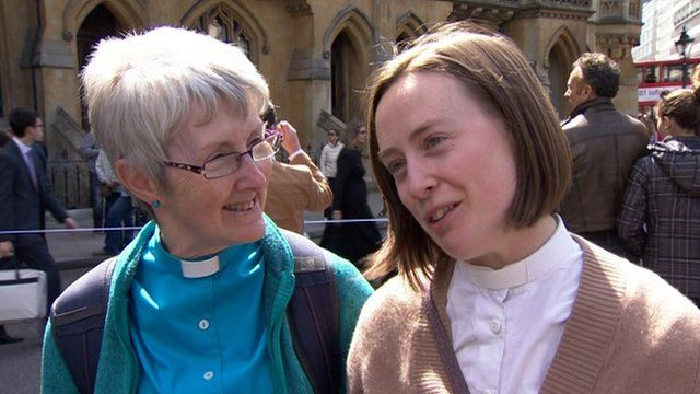 Reverend Helen Thorp and Reverend Susie Thorp