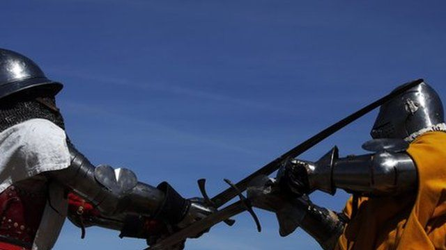 The Medieval Combat World Championship in Belmonte