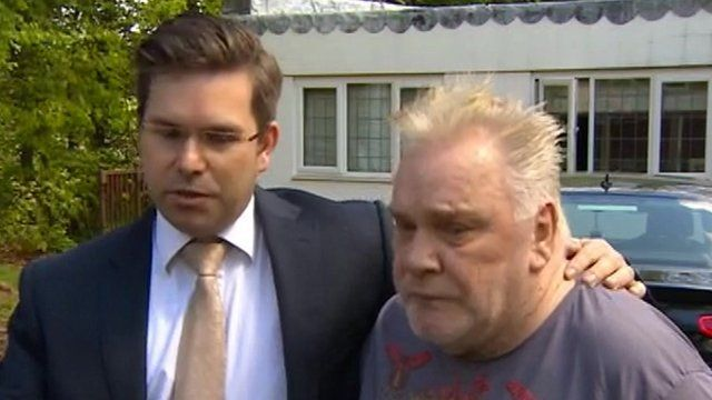 Lawyer Dean Dunham and Freddie Starr