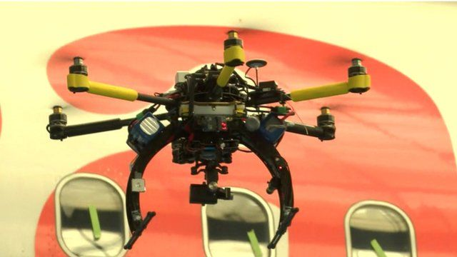 New drone technology aides aircraft safety