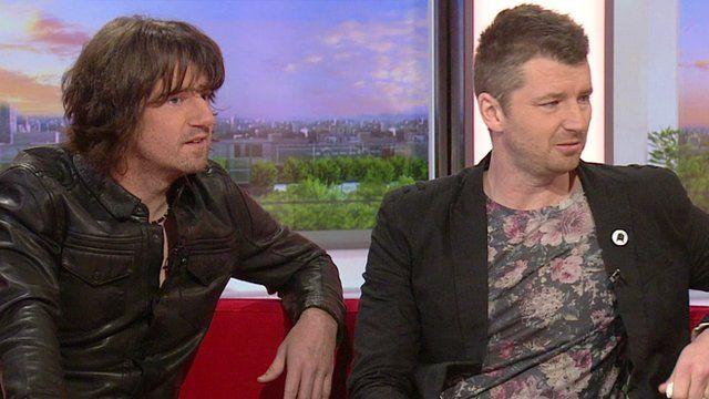 Embrace frontman Danny McNamara and his brother, guitarist Richard.