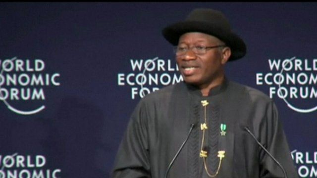 Goodluck Jonathan at World Economic Forum