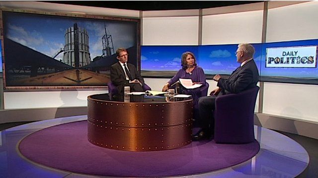 Fracking debate with Tony Gallagher, Jo Coburn and Marcus Adams