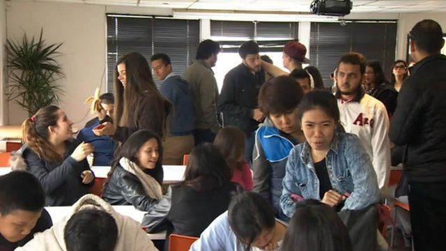 Language students