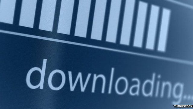 Downloading graphic