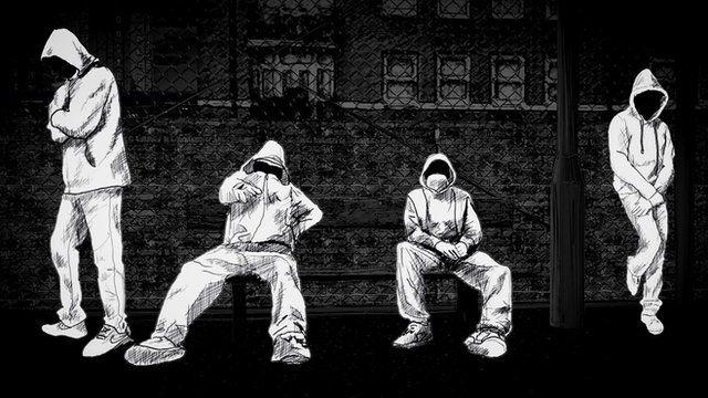 Animated image of a gang