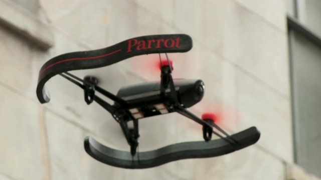 Parrot's new HD drone