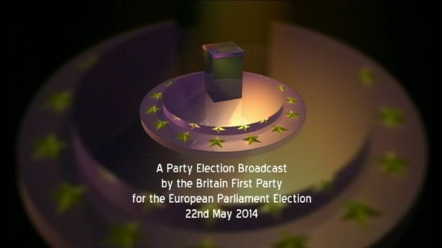 Britain First Party election broadcast