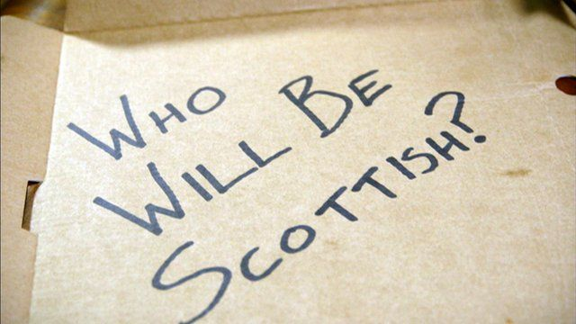 Who will be Scottish?