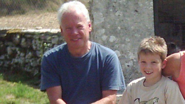 Paul Vodden and son Ben