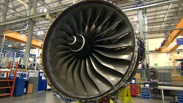 The new Trent XWB engine will be sent to Toulouse where it will be installed in Airbus planes