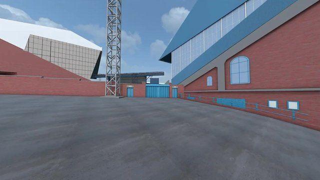 3D graphic animation of Hillsborough