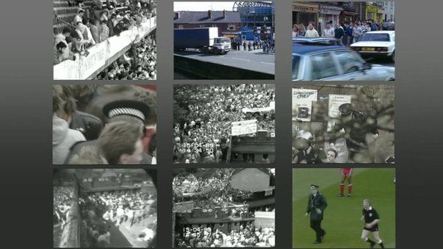 CCTV from Hillsborough disaster