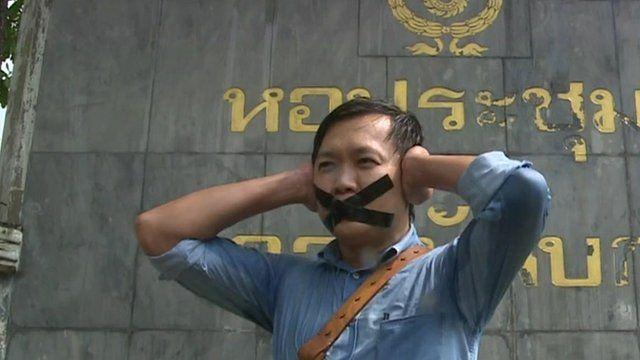 Thai journalist