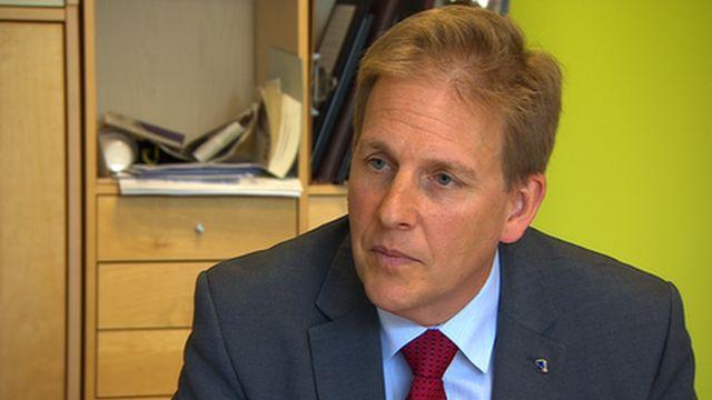 Tim Boyes, head of Queensbridge School