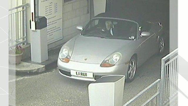 Rui Li in her car