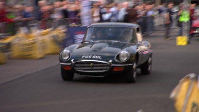 Jim Clark classic car rally