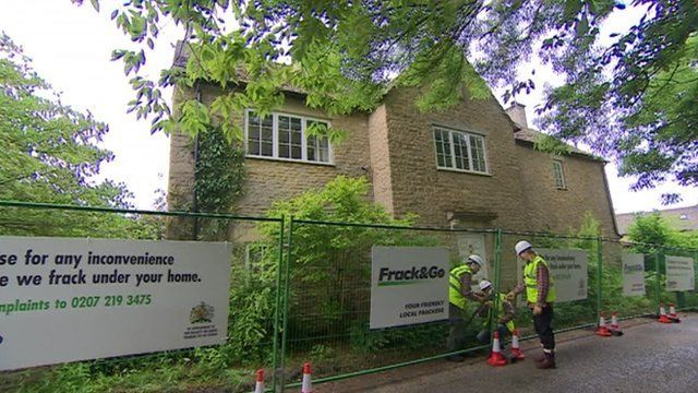 Fracking Demo At David Cameron 39 S Constituency Home Bbc News