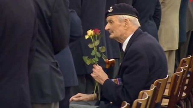 Members of Hampshire's New Forest Normandy Veterans Association