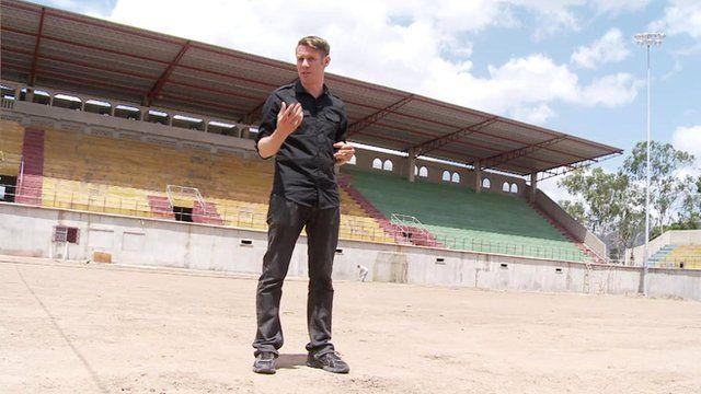 The BBC's Will Grant in Juticalpa, Honduras