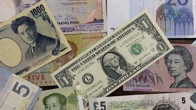 Foreign currency notes
