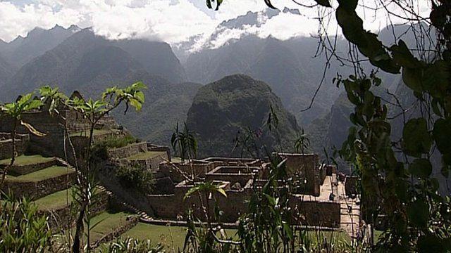 The citadel of Machu Picchu