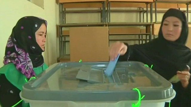 Afghanistan election