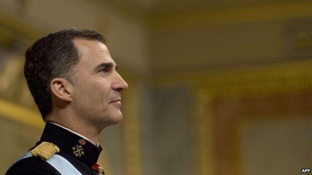 Spain's new king, Felipe VI