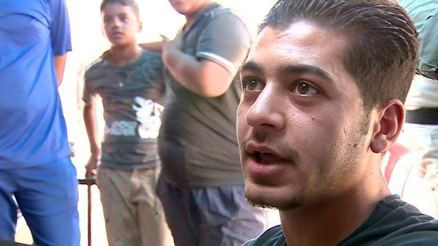 Mohammed, a resident in a mainly Sunni area of Baghdad