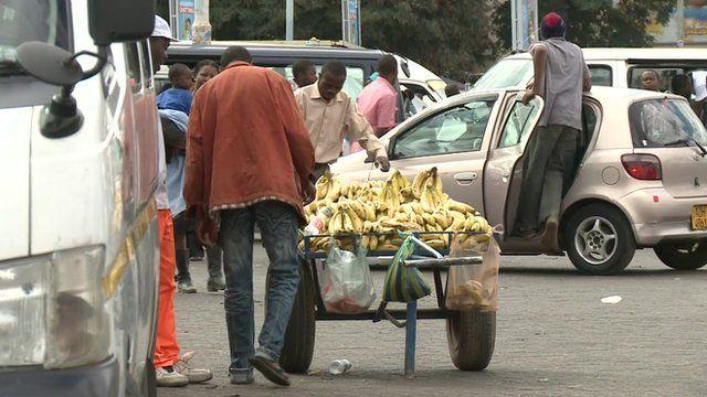 Zimbabwe street scene