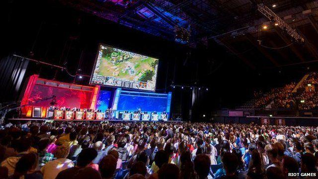 League of Legends tournament at Wembley