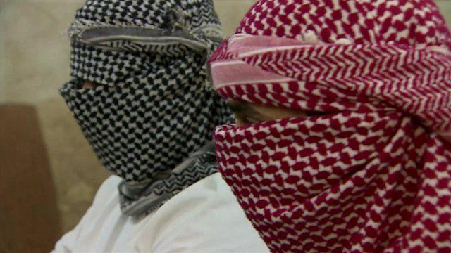 Sunni fighters in Iraq