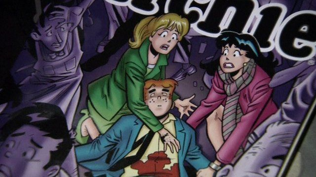 Cover of Archie comic