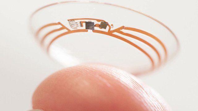'Smart' contact lens