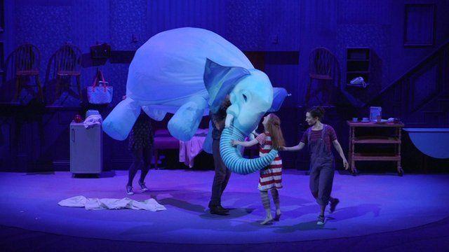 Elephantom on stage